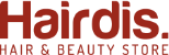 Hairdis, Hair & Beauty store.  Logo